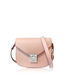 Patricia Park Avenue Pink Blush Leather Small Shoulder Bag  - MCM