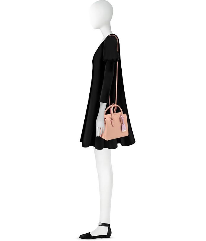 Milla Pink Blush Leather Mini Tote Bag MCM KYdQGcvfnz