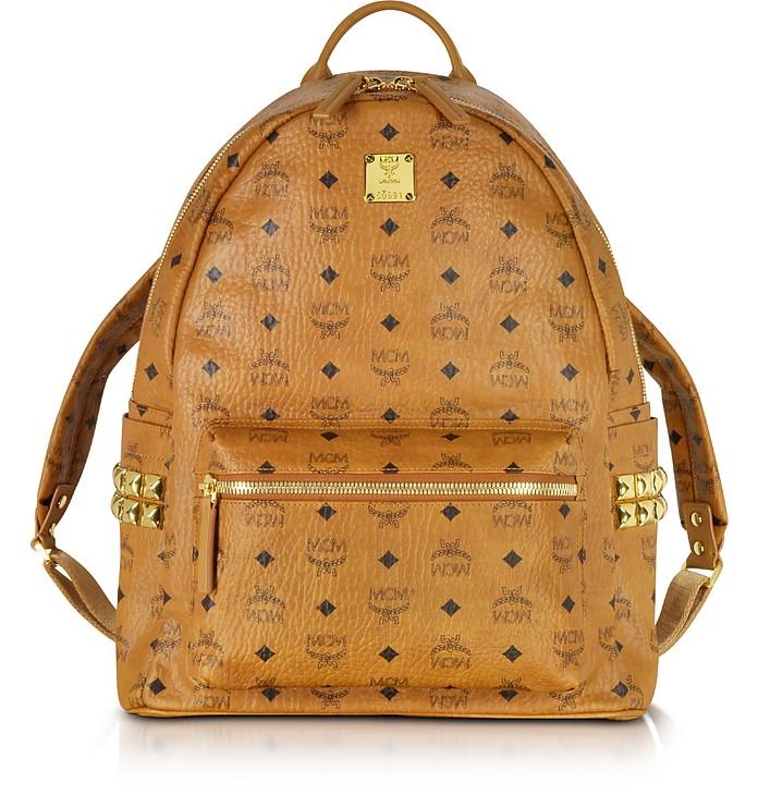 Cognac Medium Stark Backpack - MCM