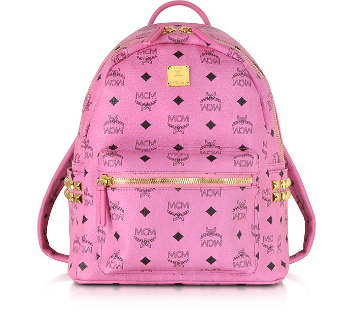 Pink Small Stark Backpack - MCM