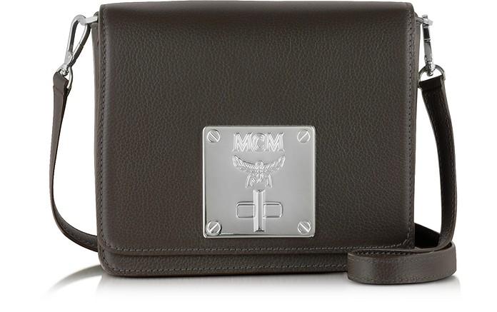 Mona Fango Leather Small Shoulder Bag - MCM