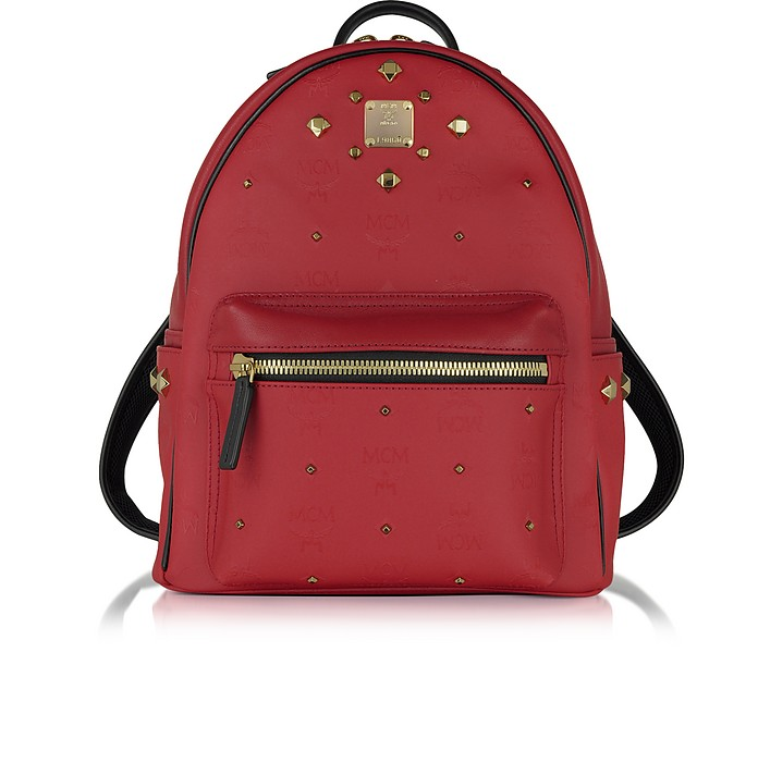 Stark Small Red Odeon Backpack - MCM