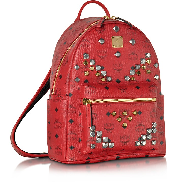 f93ee0e806 Stark Small Ruby Red Backpack - MCM.  517.20  862.00 Actual transaction  amount