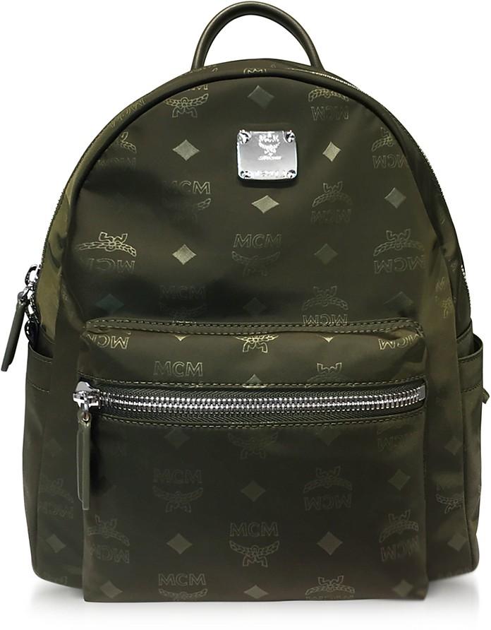 Dieter Monogrammed Nylon Small Backpack - MCM