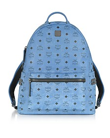 Denim Medium Stark Backpack - MCM
