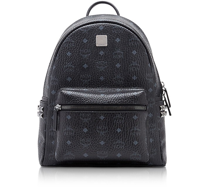 Black Small-Medium Stark Backpack - MCM