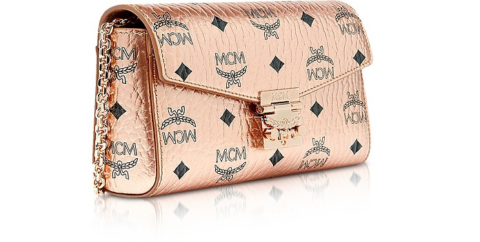 f4a969158 Champagne Gold Millie Visetos Small Crossbody Bag - MCM. $560.00 Actual  transaction amount