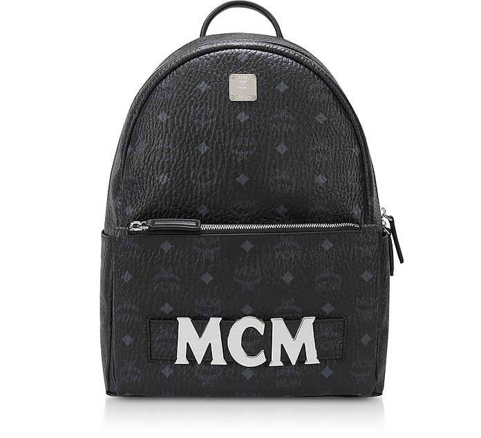 Black Trilogie Stark Small/Medium Backpack  - MCM