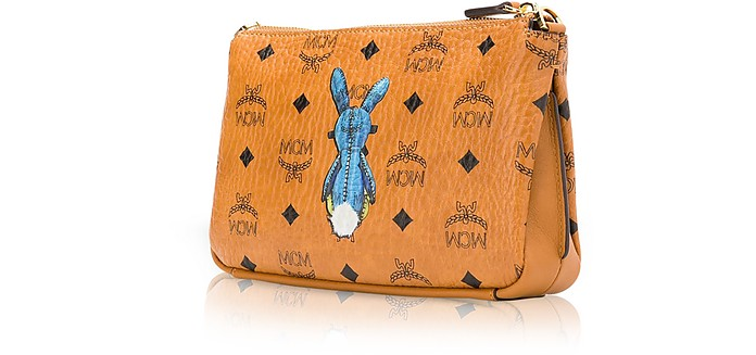 100d0b6b4 Rabbit Visetos Medium Millie Top Zip Crossbody - MCM. AU$487.50 AU$975.00  Actual transaction amount