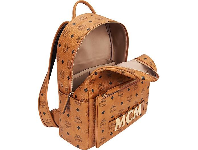 Cognac Trilogie Stark SmallMedium Backpack