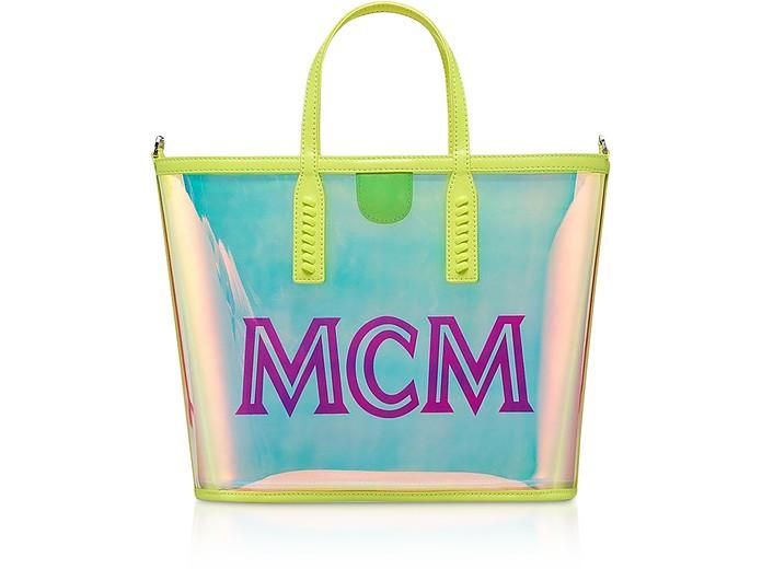 Hologram Small Flo Shopping Bag - MCM