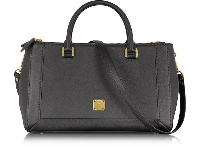 Nuovo L - Medium Saffiano Leather Tote - MCM