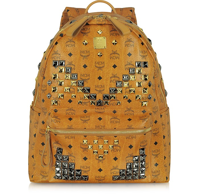 Stark Large Studded Backpack - MCM