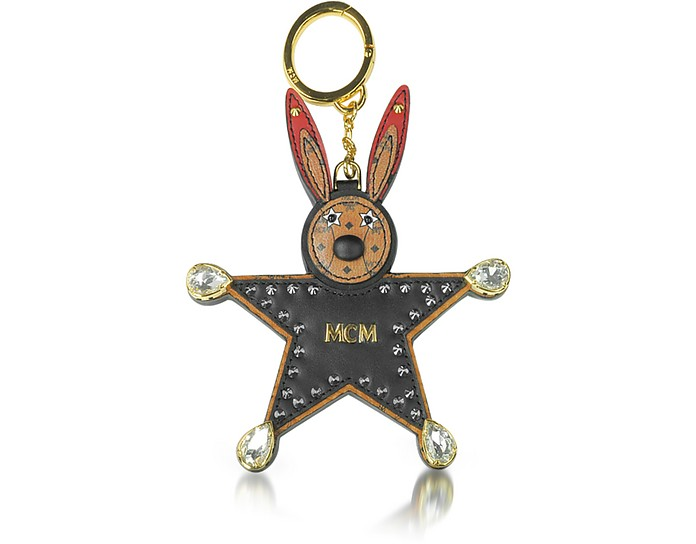 Black Star Rabbit Charm  - MCM