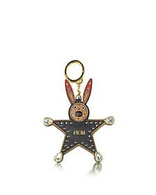 Black Star Rabbit Charm  - MCM