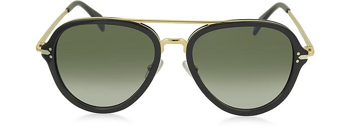 DROP CL 41374/S Acetate Aviator Unisex Sunglasses - Céline