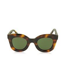 BABY MARTA CL 41393/S Acetate Square Frame Women's Sunglasses - Céline