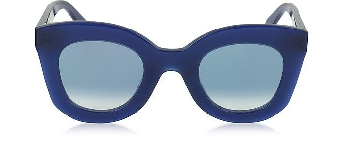 34499e07a3e0 Céline blue   shaded blue MARTA CL 41093 S Acetate Cat Eye Women s ...