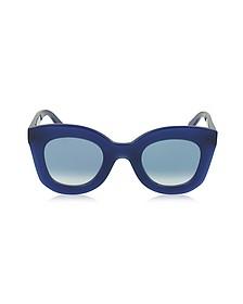 MARTA CL 41093/S Acetate Cat Eye Women's Sunglasses - Céline