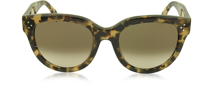 AUDREY CL 41755/S Acetate Cat Eye Women's Sunglasses - Céline