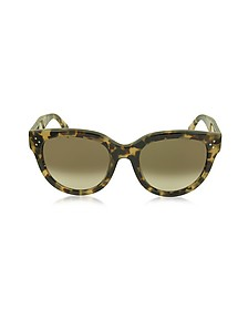 AUDREY CL 41755/S Occhiali da Sole in Acetato Avana Cat Eye - Celine
