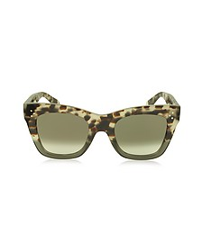 CATHERINE CL 41090/S Occhiali da Sole in Acetato Avana - Celine