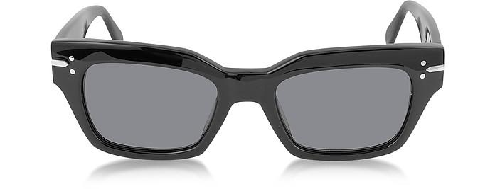 CL 41070/S Black Acetate Rectangular Women's Sunglasses - Céline