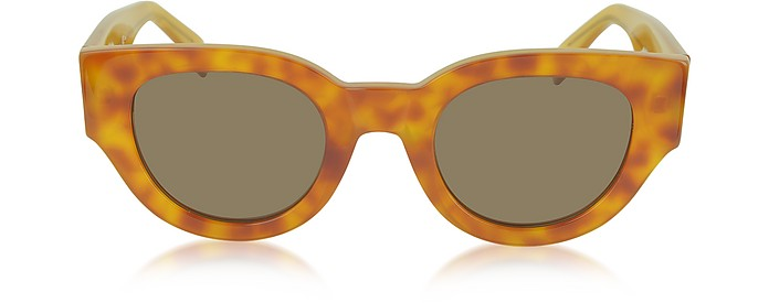 CL 41064/S Bicolour Branch In Acetate Sunglasses - Céline