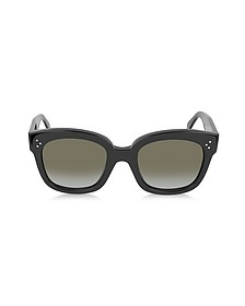 CL41805/S New Audrey occhiali da Sole in Acetato Nero - Celine
