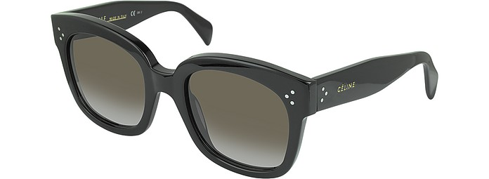 9144ce8d99e3 CL41805 S New Audrey Black Acetate Sunglasses - Céline.  324.00 Actual  transaction amount