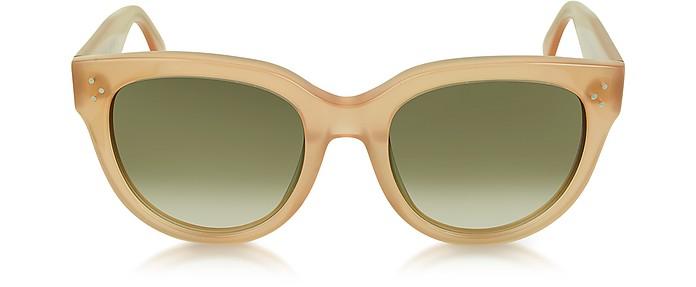 CL41755 Audrey Opal Pink Acetate Sunglasses - Céline