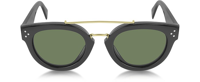 CL41043/S New Pretty Metal and Acetate Sunglasses - Céline
