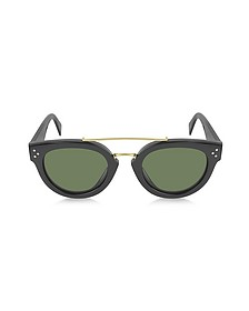 CL41043/S New Pretty Metal and Acetate Sunglasses