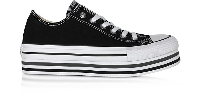 Chuck Taylor All Star Platform EVA in Canvas Nero - Converse Limited Edition