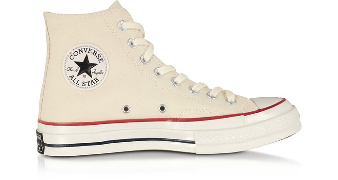 Parchment Chuck 70 Classic High Top Unisex Sneakers - Converse Limited Edition