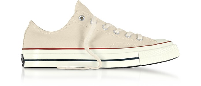 Parchment Chuck 70 Classic Low Top Unisex Sneakers - Converse Limited Edition