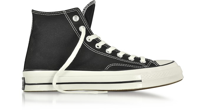 Chuck 70 High Top Black Canvas Sneakers - Converse Limited Edition