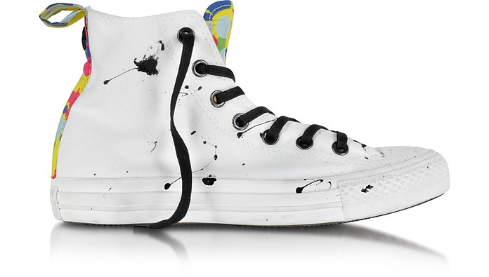 CT All Star Hi Camo Black Splash Canvas Sneaker - Converse Limited Edition