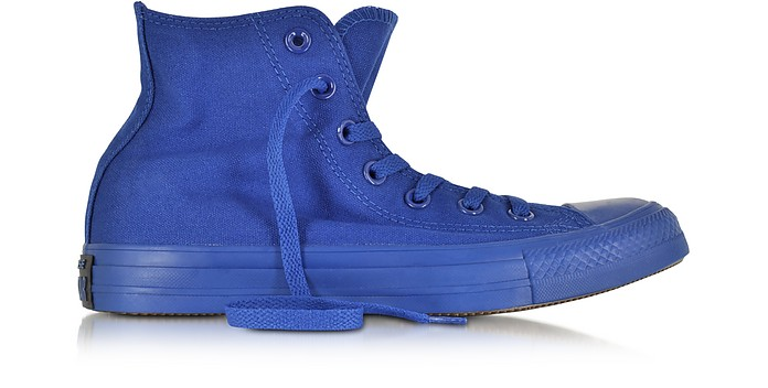 All Star Hi Canvas Roadtrip Blue Monochrome Sneaker - Converse Limited Edition