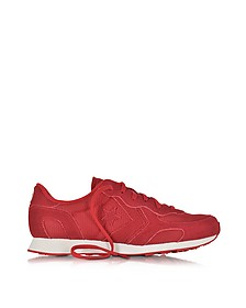 Auckland Racer Ox Tango Red Mesh Suede Sneaker - Converse Limited Edition