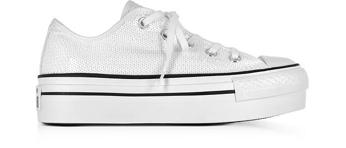 Chuck Taylor All Star Ox Platform Sequins Sneakers - Converse Limited Edition