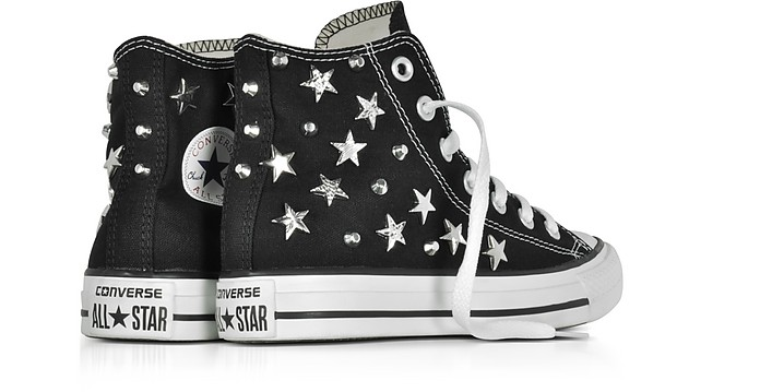 3e0c25e24e82 Chuck Taylor All Star Hi Black Sneakersw Stars and Studs - Converse Limited  Edition.  126.00  180.00 Actual transaction amount