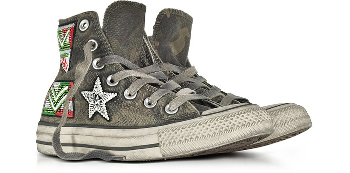 13a471e90c28 Converse Limited Edition Chuck Taylor All Star Camo Canvas LTD Sneakers 3  UK at FORZIERI UK