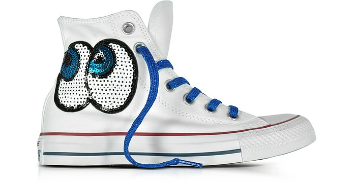 Chuck Taylor All Star Hi White Tropical Canvas LTD Sneakers - Converse Limited Edition