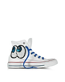 Chuck Taylor All Star Hi LTD Sneaker aus tropischem Canvas in weiß - Converse Limited Edition