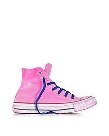 Chuck Taylor All Star Hi Neon LTD Sneaker aus Canvas in neonpink - Converse Limited Edition