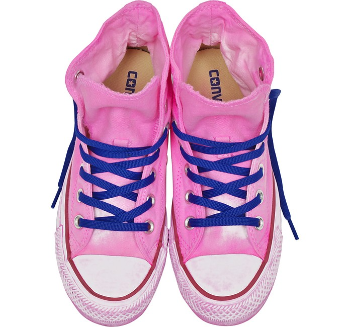 59743f65f8c5 Chuck Taylor All Star Hi Neon Fuchsia Canvas LTD Sneakers - Converse  Limited Edition.  60.00  120.00 Actual transaction amount