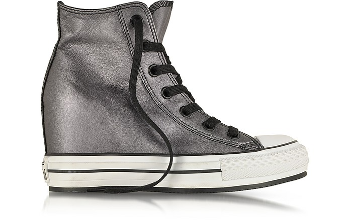 0fbfe3c65cbf Converse Limited Edition All Star HI Metallic Leather Wedge Sneaker ...