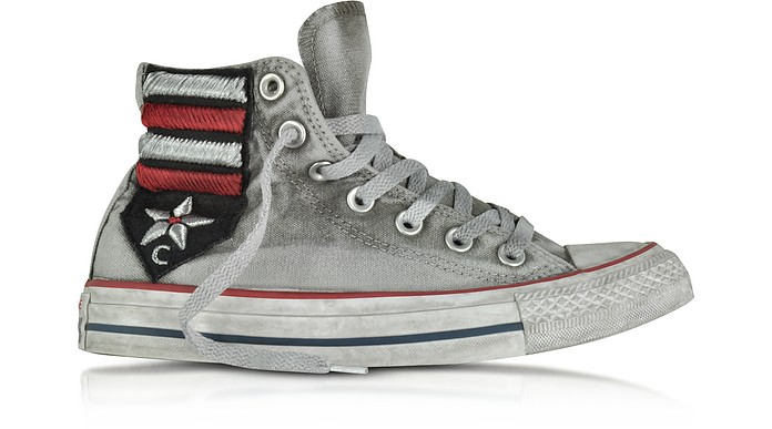 Chuck Taylor All Star High Vintage Flag Patchwork Canvas LTD Unisex  Sneakers - Converse Limited Edition 1420c299ff1e2