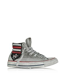 Chuck Taylor All Star High Vintage Flag Patchwork Canvas LTD Unisex Sneakers - Converse Limited Edition